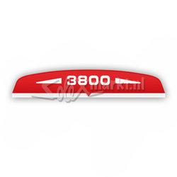 Autocollant filtre à air Solex 3800