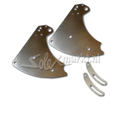 Support moteur Solex (acier inoxydable) Universel pour 19'' Solex