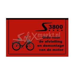 Solex 3800 Book  (écrit en néerlandais)