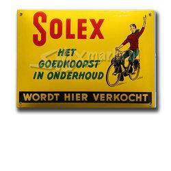 Solex emaille plaque  (14x10cm)