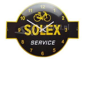 Solex emaille horloge  (53x40cm)