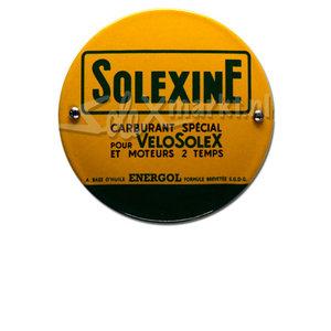 Solexine emaille plaque  (10cm)