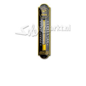 Solex emaille thermomètre  (6,5x30cm)